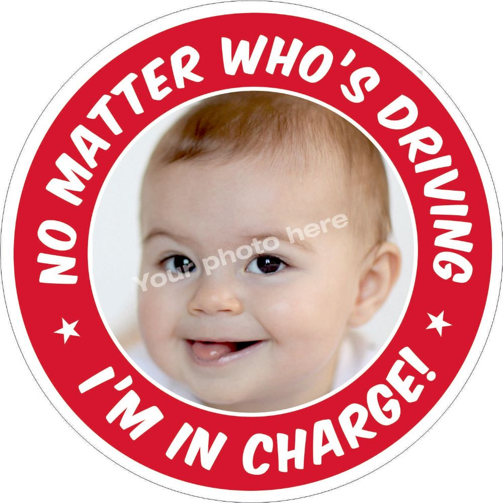 I'm In Charge sticker